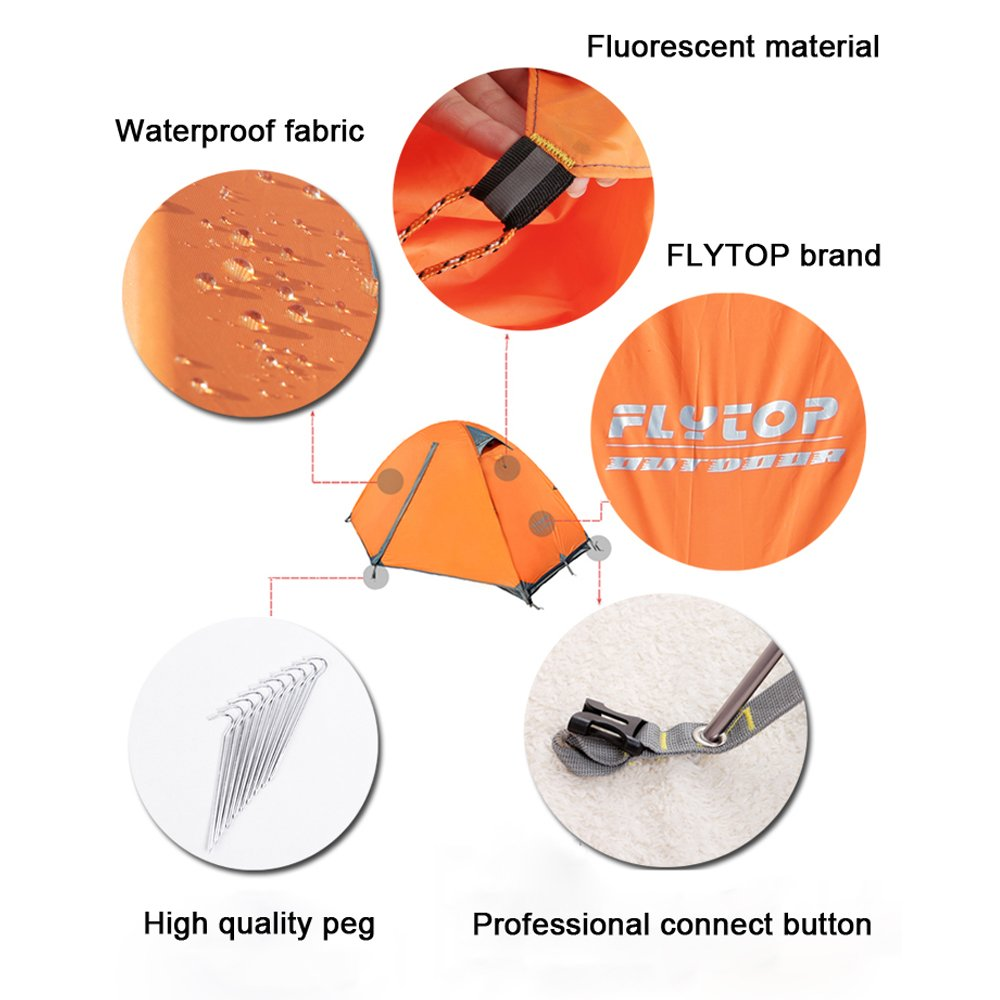 1-2 person Camping Tent flytop company