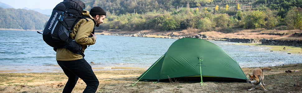 Naturehike 2 Person backpacking Tent
