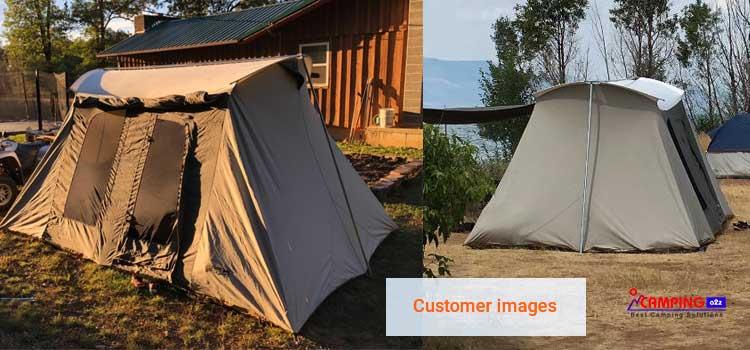 Kodiak Canvas Tents 10x14 ft