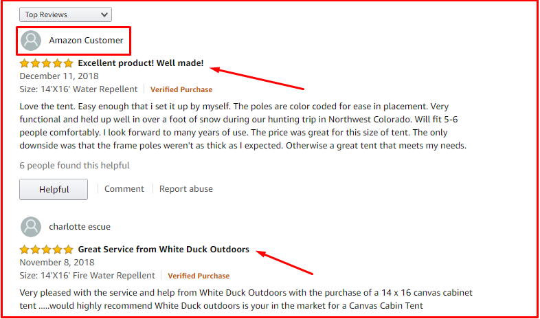 White duck outdoors complete canvas wall tent review
