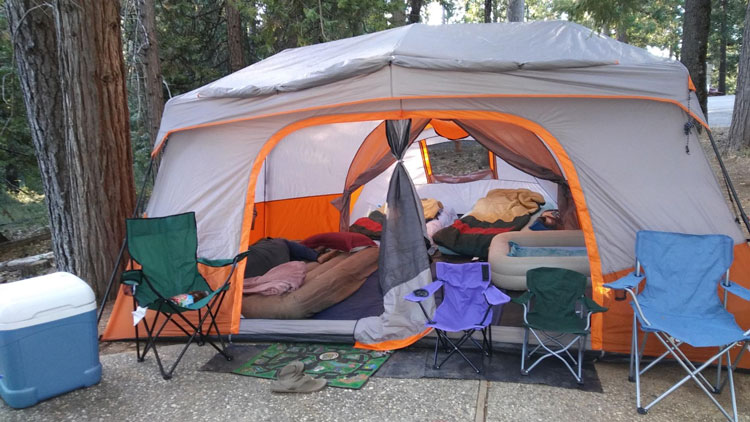 Instant Cabin Ozark Trail Tent