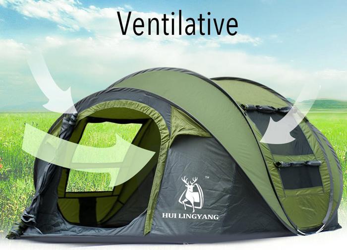 ADIPIN Tent ventilative