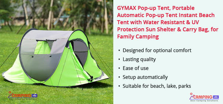 GYMAX Pop up tent