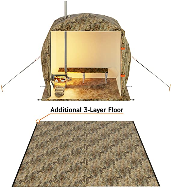 Russian-Bear Hot Tent floor
