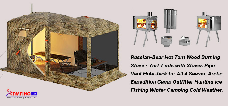 Russian-Bear Hot Tent